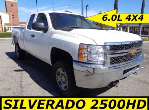 2012 Chevrolet Silverado 2500HD for sale at ALL STAR TRUCKS INC in Los Angeles CA