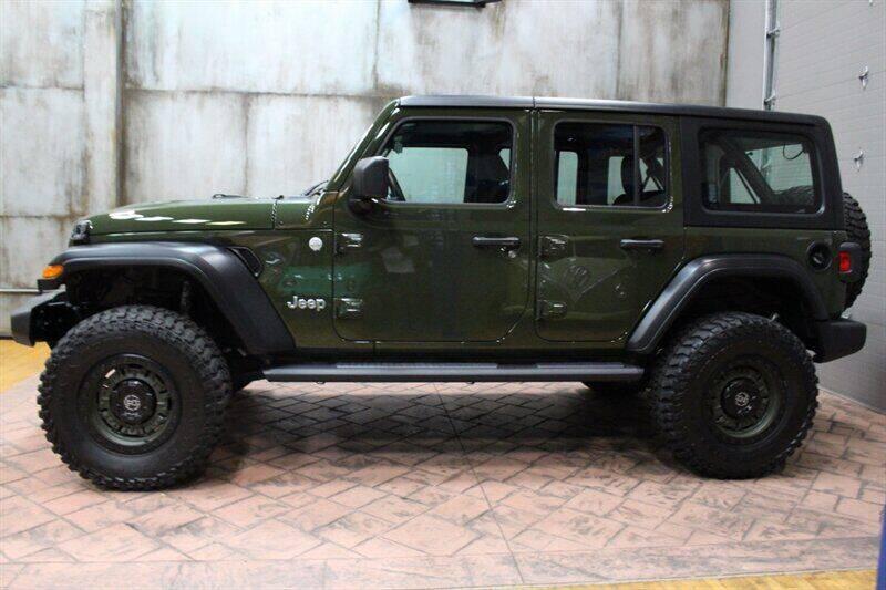 2021 Jeep Wrangler Unlimited for sale in Pennington, NJ