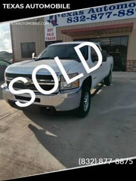 2011 Chevrolet Silverado 2500HD for sale at TEXAS AUTOMOBILE in Houston TX