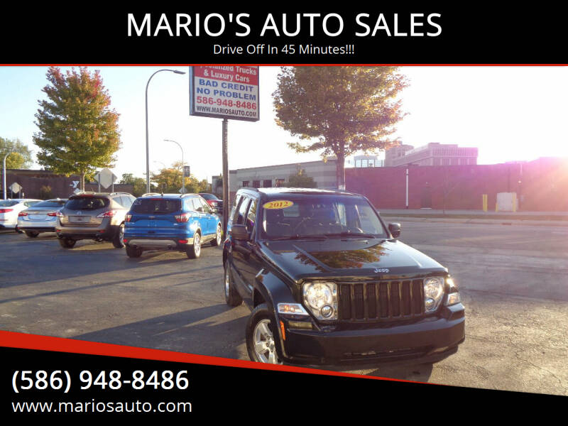 2012 Jeep Liberty for sale at MARIO'S AUTO SALES in Mount Clemens MI