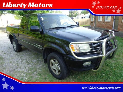 2002 Toyota Tundra for sale at Liberty Motors in Chesapeake VA