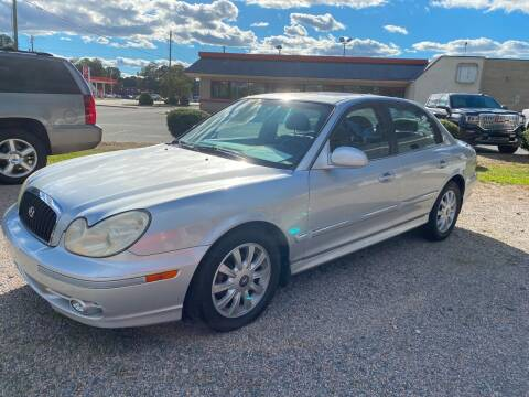 2004 Hyundai Sonata for sale at Robert Sutton Motors in Goldsboro NC