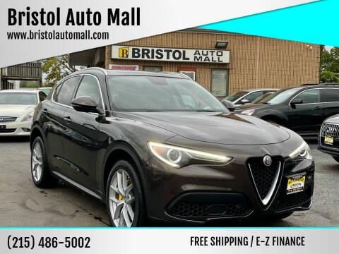 2018 Alfa Romeo Stelvio for sale at Bristol Auto Mall in Levittown PA