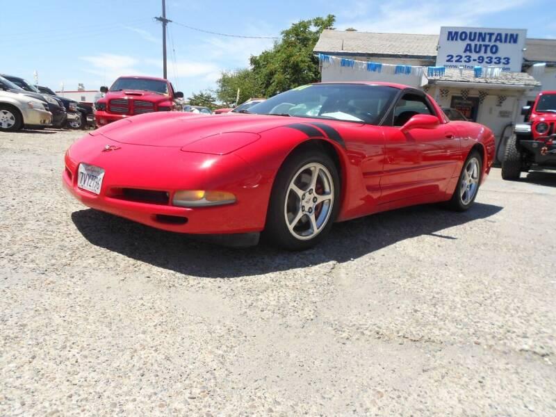 2001 Chevrolet Corvette for sale at Mountain Auto in Jackson CA