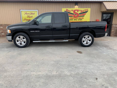 2004 Dodge Ram Pickup 1500 for sale at BIG 'S' AUTO & TRACTOR SALES in Blanchard OK