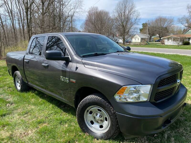 2017 RAM Ram Pickup 1500 for sale at Kenny Vice Ford Sales Inc - USED Vehicle Inventory in Ladoga IN