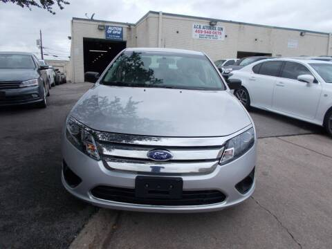 2011 Ford Fusion for sale at ACH AutoHaus in Dallas TX