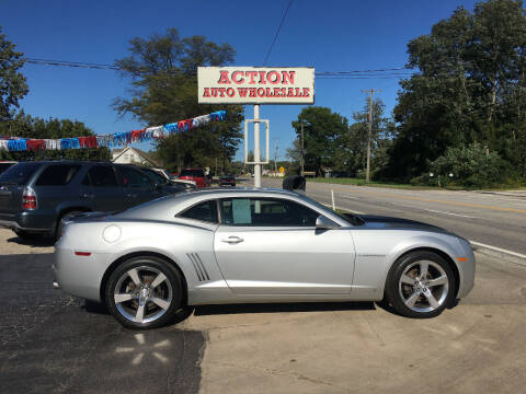 2010 Chevrolet Camaro for sale at Action Auto Wholesale in Painesville OH
