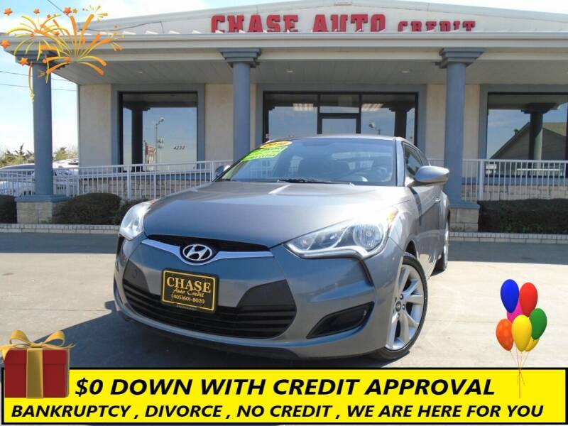 2016 Hyundai Veloster for sale at Chase Auto Credit in Oklahoma City OK