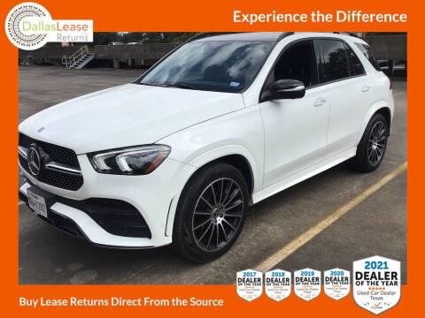 2020 Mercedes-Benz GLE for sale at Dallas Auto Finance in Dallas TX