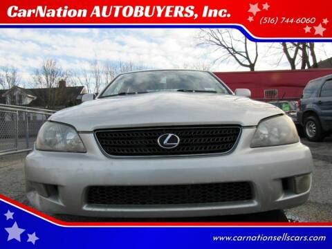 2004 Lexus IS 300 for sale at CarNation AUTOBUYERS Inc. in Rockville Centre NY