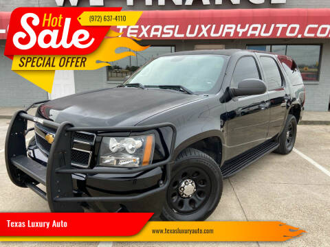 2014 Chevrolet Tahoe for sale at Texas Luxury Auto in Cedar Hill TX