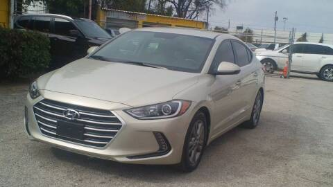 2017 Hyundai Elantra for sale at Global Vehicles,Inc in Irving TX