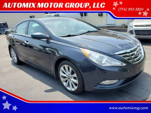 2013 Hyundai Sonata for sale at AUTOMIX MOTOR GROUP, LLC in Swansea MA