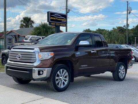 2014 Toyota Tundra for sale at BEST MOTORS OF FLORIDA in Orlando FL