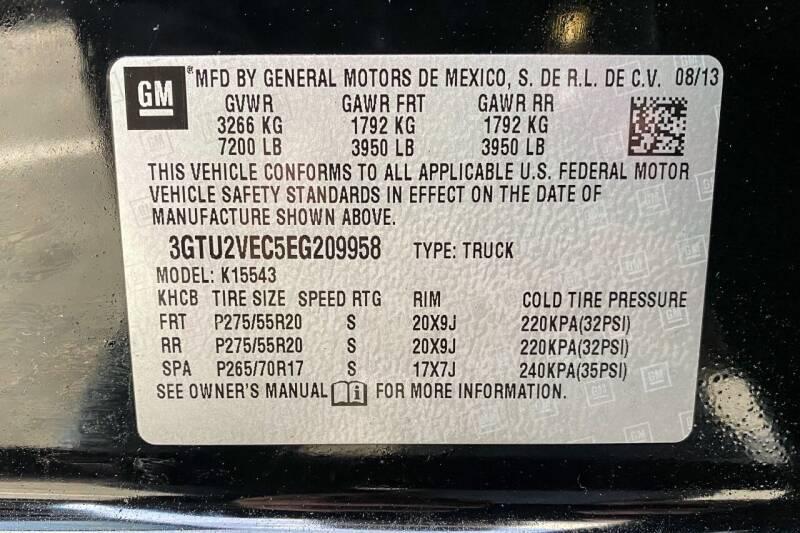 2014 GMC Sierra 1500 SLT - East Greenbush NY