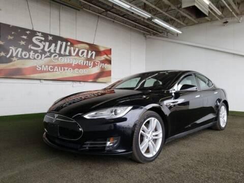 2014 Tesla Model S for sale at SULLIVAN MOTOR COMPANY INC. in Mesa AZ