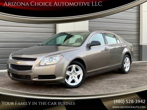 2011 Chevrolet Malibu for sale at Arizona Choice Automotive LLC in Mesa AZ