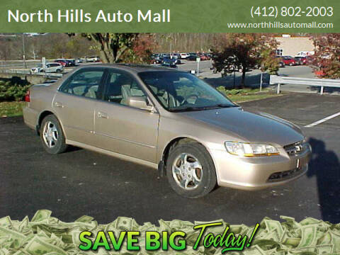 2000 Honda Accord for sale at North Hills Auto Mall in Pittsburgh PA