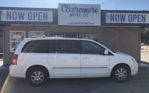 2010 Chrysler Town and Country for sale at Claremore Motor Company in Claremore OK