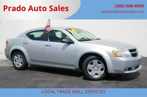 2010 Dodge Avenger for sale at Prado Auto Sales in Miami FL