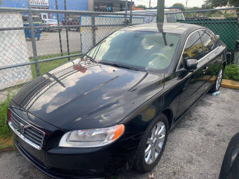 2009 Volvo S80 for sale at LESS PRICE AUTO BROKER in Hollywood FL