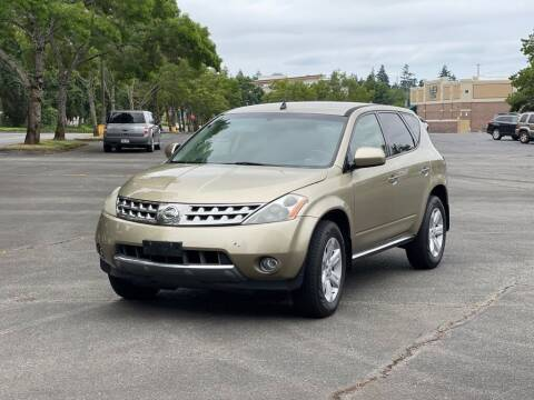 2006 Nissan Murano for sale at H&W Auto Sales in Lakewood WA