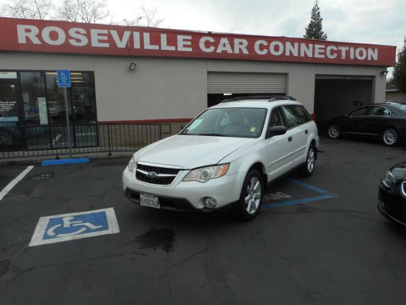 2008 Subaru Outback for sale at ROSEVILLE CAR CONNECTION in Roseville CA
