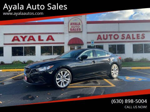 2014 Mazda MAZDA6 for sale at Ayala Auto Sales in Aurora IL