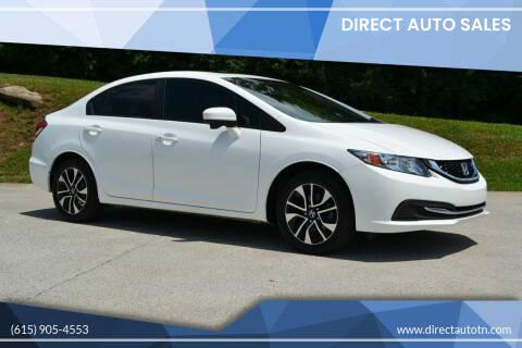 2015 Honda Civic for sale at Direct Auto Sales in Franklin TN