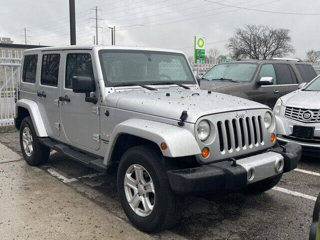 2012 Jeep Wrangler Unlimited for sale at SOUTHFIELD QUALITY CARS in Detroit MI