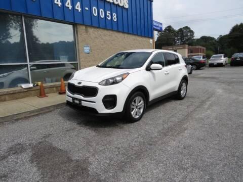 2017 Kia Sportage for sale at 1st Choice Autos in Smyrna GA