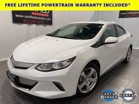 2017 Chevrolet Volt for sale at CERTIFIED AUTOPLEX INC in Dallas TX