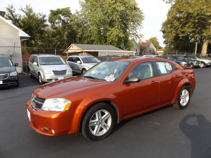2008 Dodge Avenger for sale at Goodman Auto Sales in Lima OH