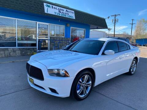 2013 Dodge Charger for sale at Island Auto Sales in Colorado Springs CO