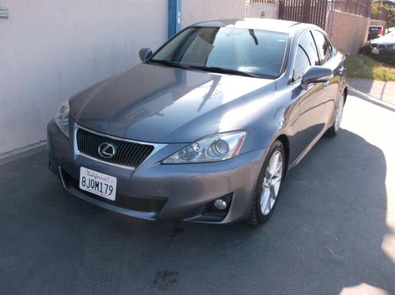 2012 Lexus IS 250 for sale at Executive Auto Sales in Costa Mesa CA