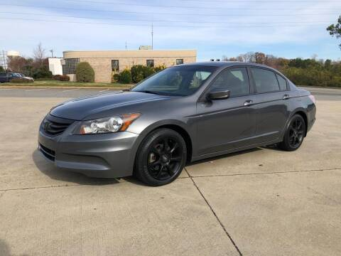2011 Honda Accord for sale at Triple A's Motors in Greensboro NC