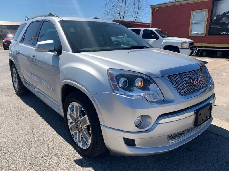 2012 GMC Acadia for sale at JAVY AUTO SALES in Houston TX