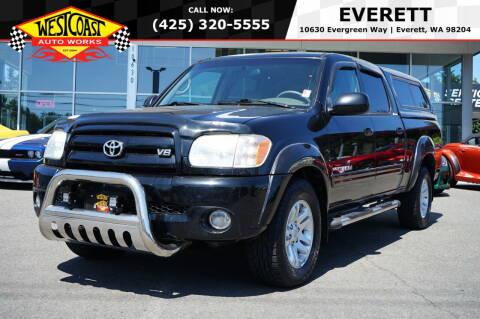 2005 Toyota Tundra for sale at West Coast Auto Works in Edmonds WA