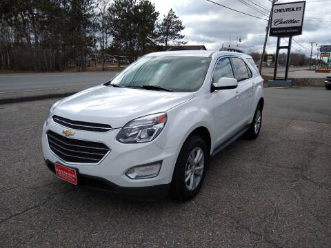 2016 Chevrolet Equinox for sale at KATAHDIN MOTORS INC /  Chevrolet Sales & Service in Millinocket ME