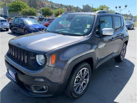2017 Jeep Renegade for sale at AutoDeals in Hayward CA