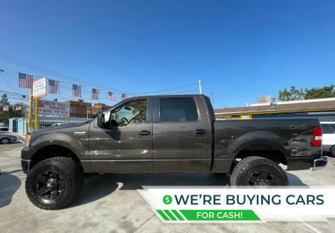 2006 Ford F-150 for sale at Good Vibes Auto Sales in North Hollywood CA