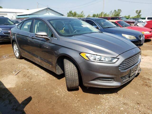 2014 Ford Fusion for sale at Varco Motors LLC - Builders in Denison KS