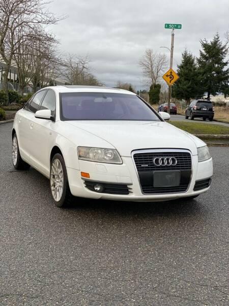 2007 Audi A6 for sale at Washington Auto Sales in Tacoma WA