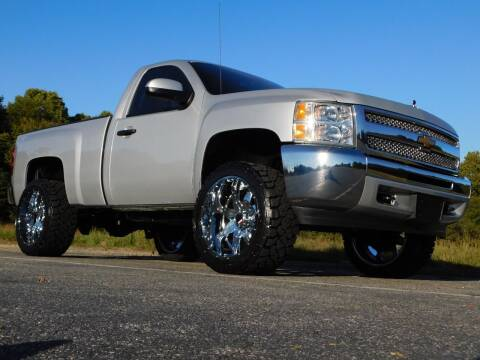 2012 Chevrolet Silverado 1500 for sale at Used Cars For Sale in Kernersville NC