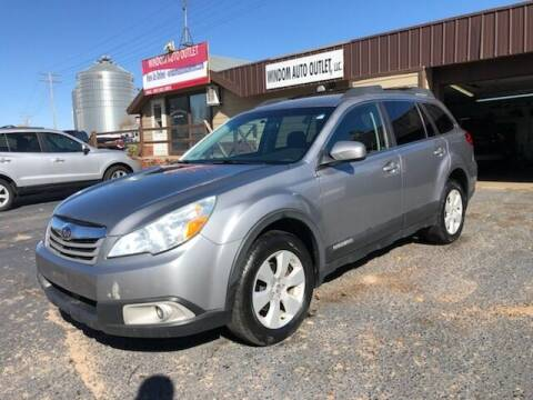2010 Subaru Outback for sale at WINDOM AUTO OUTLET LLC in Windom MN