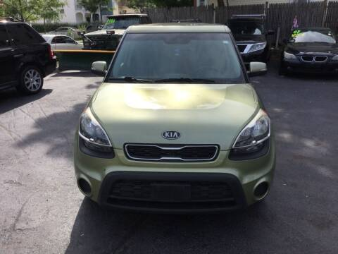 2012 Kia Soul for sale at Olsi Auto Sales in Worcester MA