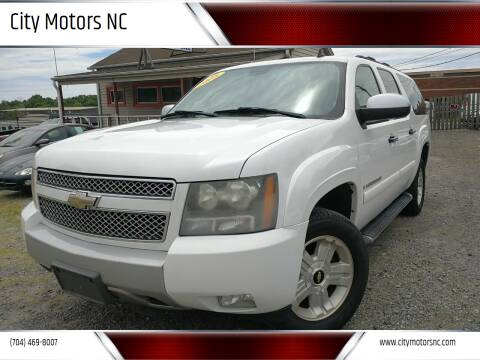 2008 Chevrolet Suburban for sale at City Motors NC in Charlotte NC