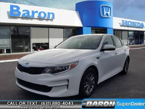 2016 Kia Optima for sale at Baron Super Center in Patchogue NY