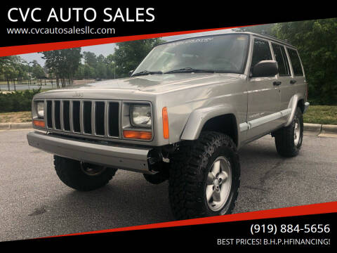 2001 Jeep Cherokee for sale at CVC AUTO SALES in Durham NC
